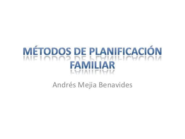 Andrés Mejia Benavides
