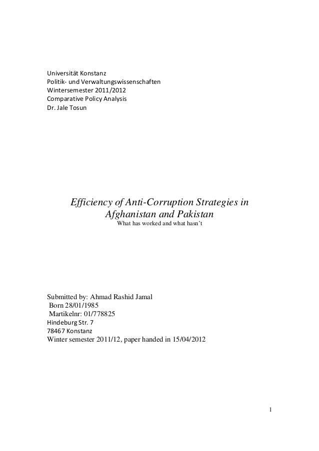 1 Universität Konstanz Politik- und Verwaltungswissenschaften Wintersemester 2011/2012 Comparative Policy Analysis Dr. Jal...