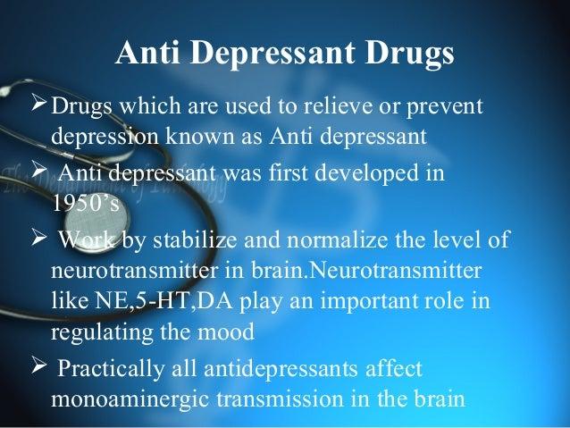 Real name for depressant drugs