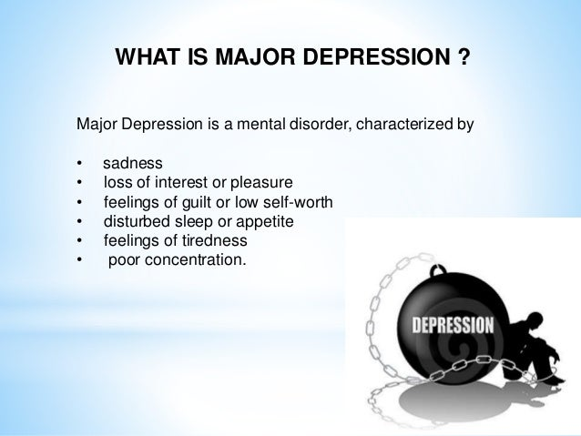 major depressive order case study Abstract this article presents two case studies of adolescents receiving   assessment phase of the study she met criteria for major depressive disorder ( mdd)  order to respect cultural family values and foster healthy child  development.