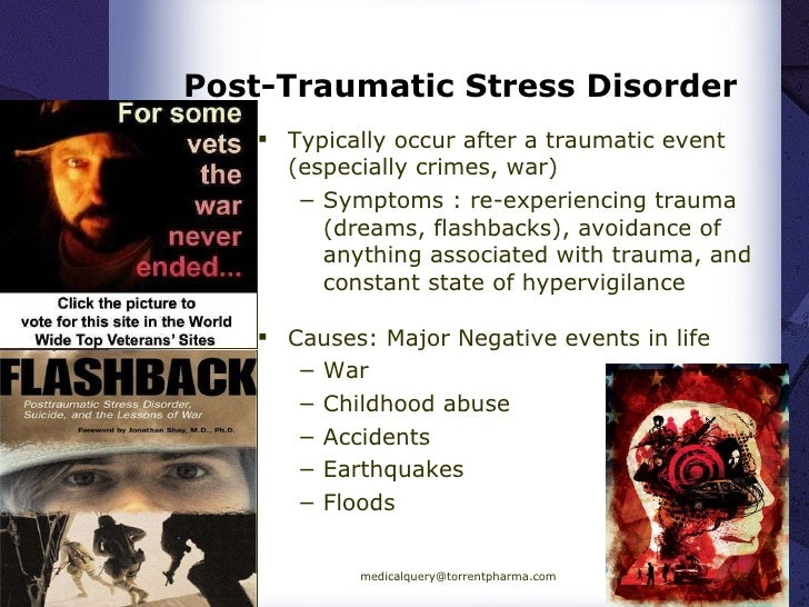 history of post traumatic stress disorder Post-traumatic stress disorder (ptsd) is a persistent and sometimes crippling condition precipitated by psychologically overwhelming experience it develops in a significant.