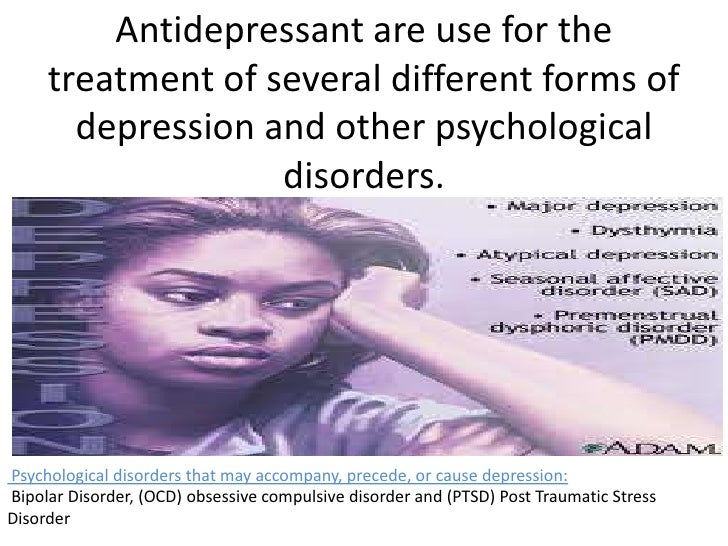 An analysis of the major forms of the depression disorder in the united states