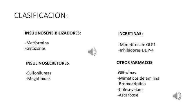 Antidiabéticos orales. María Paula Montiglia