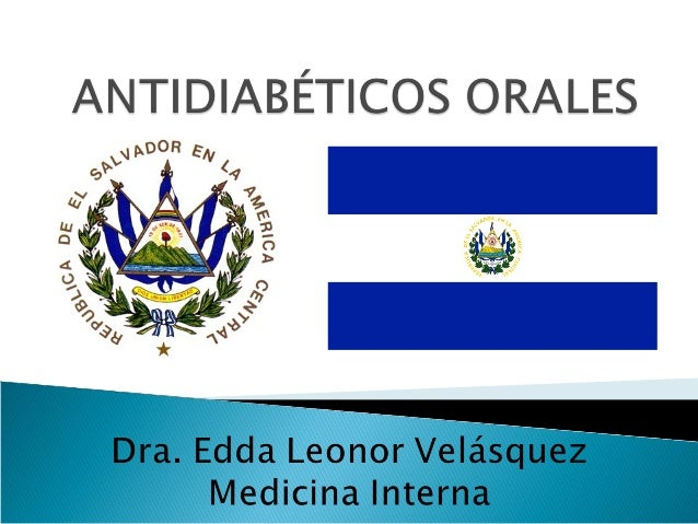 Antidiabeticos orales ok