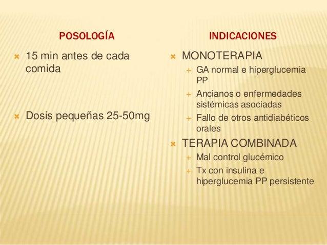 Antidiabeticos orales y terapia combinada