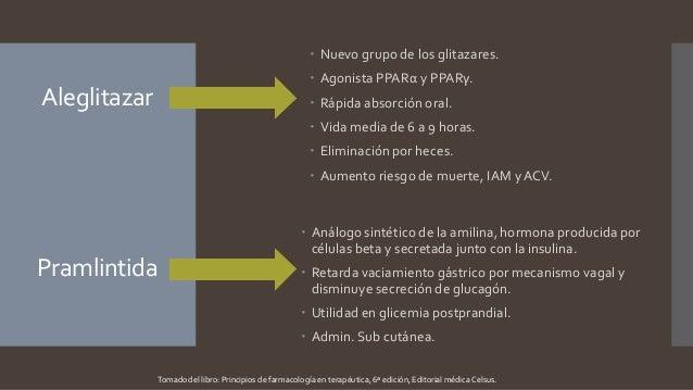 Antidiabéticos - hipoglicemiantes orales
