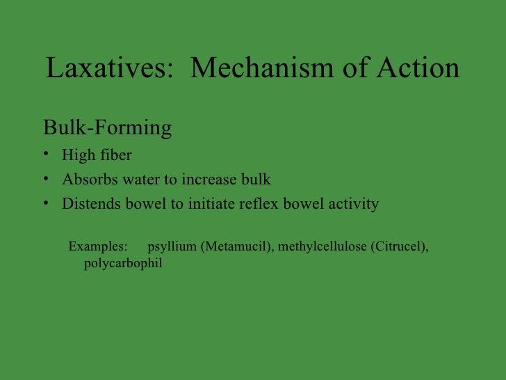 Antidiarrhoeal Drugs Amp Laxatives