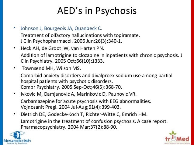 Antiepileptic Drugs - Lessons from Psychiatry