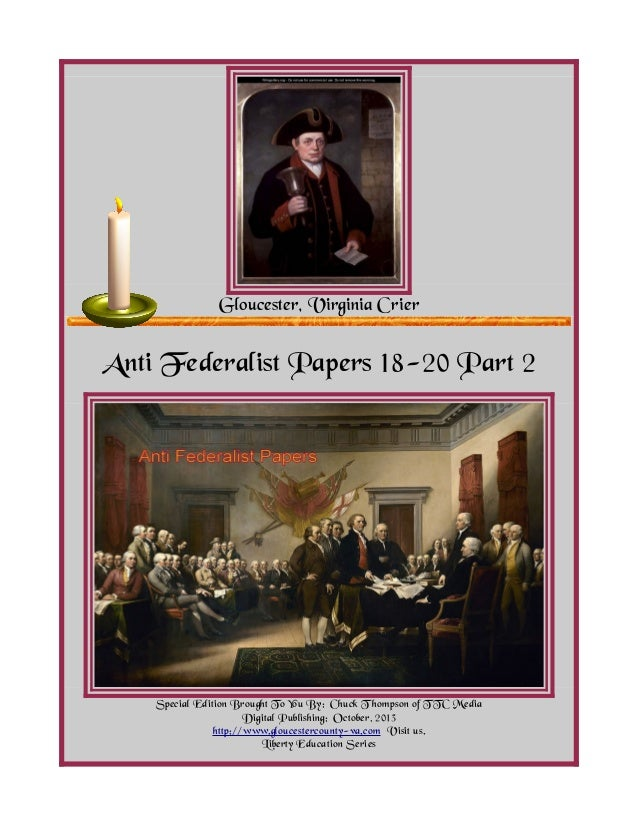 what did the federalist essays do John adams and thomas jefferson carried on a lively correspondence regarding the ratification of the constitution  federalist essays  do so as well if it did.