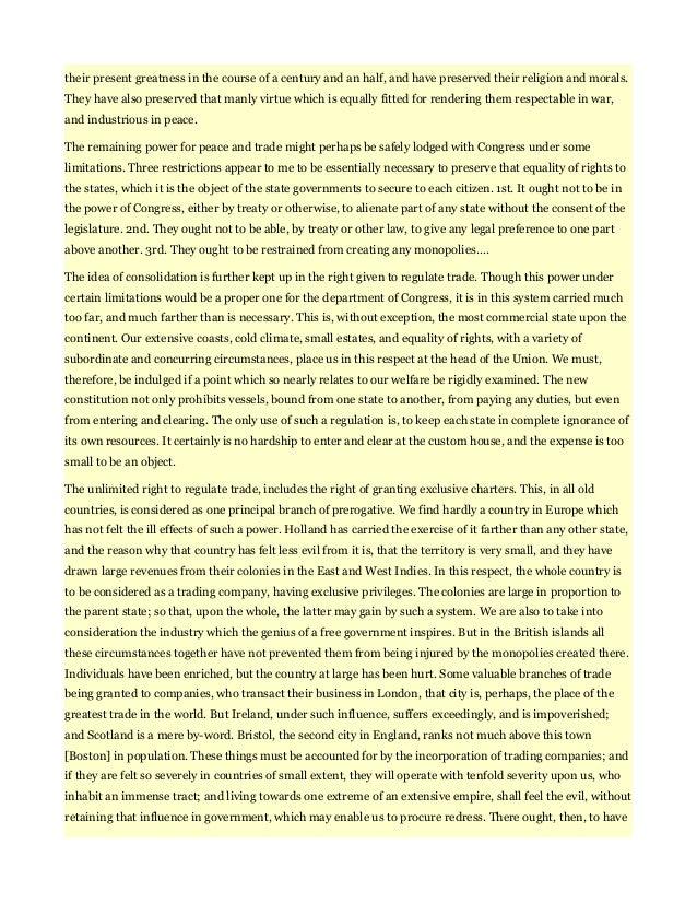 federalist paper 11