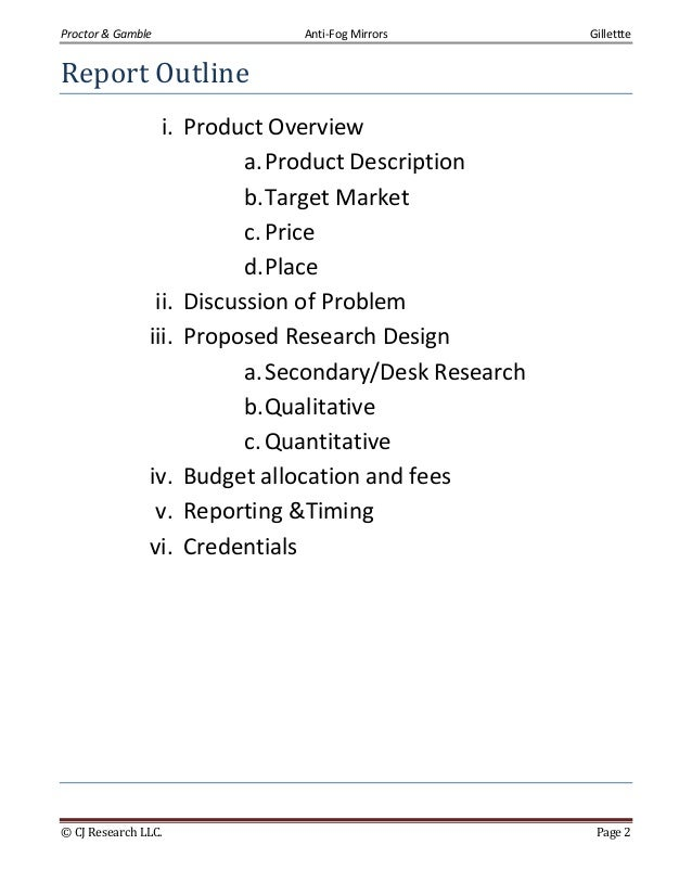 marketing research plan outline Your marketing research plan needs to define market research approaches and include types of market research and impact strengthen your marketing approach with a.