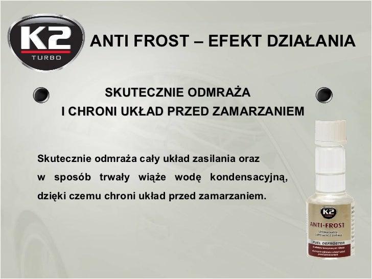 K2 Anti-frost - uniwersalny odmrazacz paliwa Slide 3