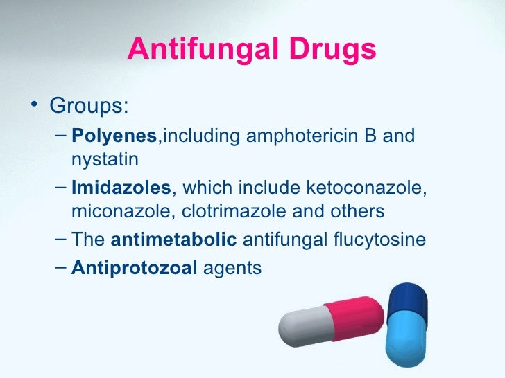 Antifungal Drugs on