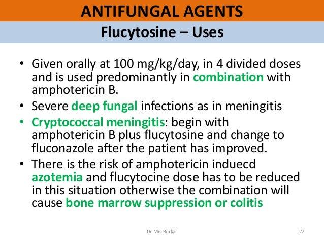 Amphotericin b dose cryptococcal meningitis mri