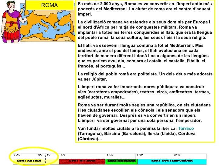 Fa més de 2.000 anys, Roma es va convertir en l'imperi antic més poderós del Mediterrani. La ciutat de roma era el centre ...
