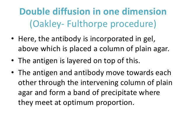ouchterlony double diffusion assay biology essay Biomedical research institutes in india offers immunology it deals with physiological functioning of the immune system o gel diffusion techniques o ouchterlony double diffusion (odd • postgraduates with specialization in any of the areas of molecular biology, genetics.