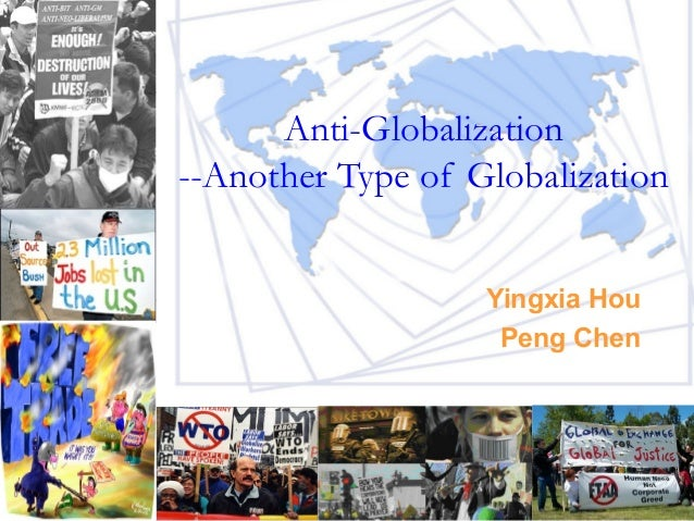 Anti globalisation essay