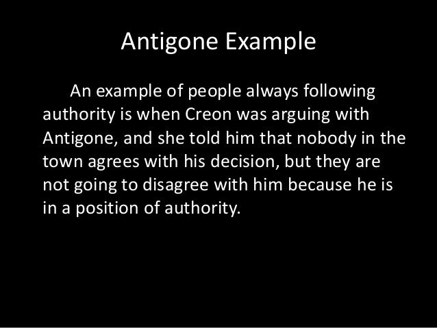 thesis statement for the play antigone Beginning thesis statement:  evil results when they try to play god 3  creon and antigone are both similar and different.