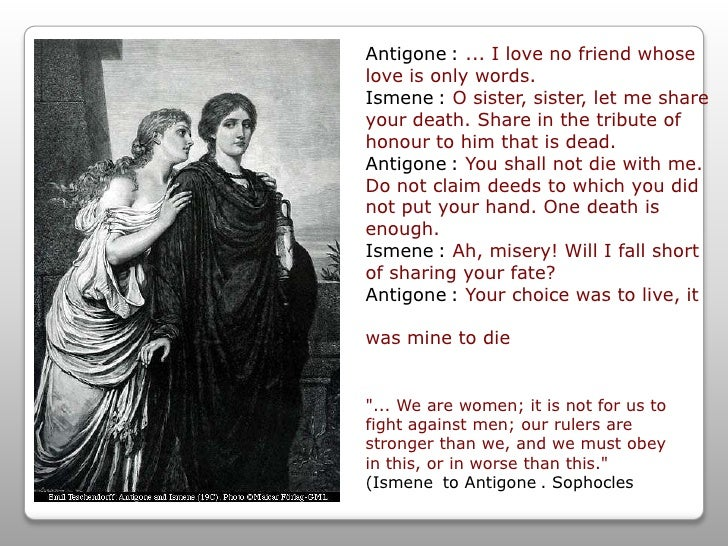 antigone character analysis compassion of love 129 quotes from antigone (the theban plays, #3): antigone quotes no matter how foolish your deeds, those who love you will love you still.
