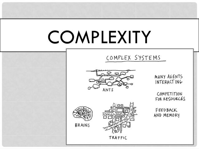 COMPLICATED OR COMPLEX? coding