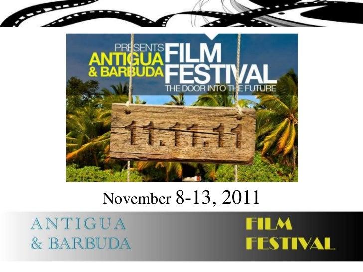 November 8-13, 2011<br />