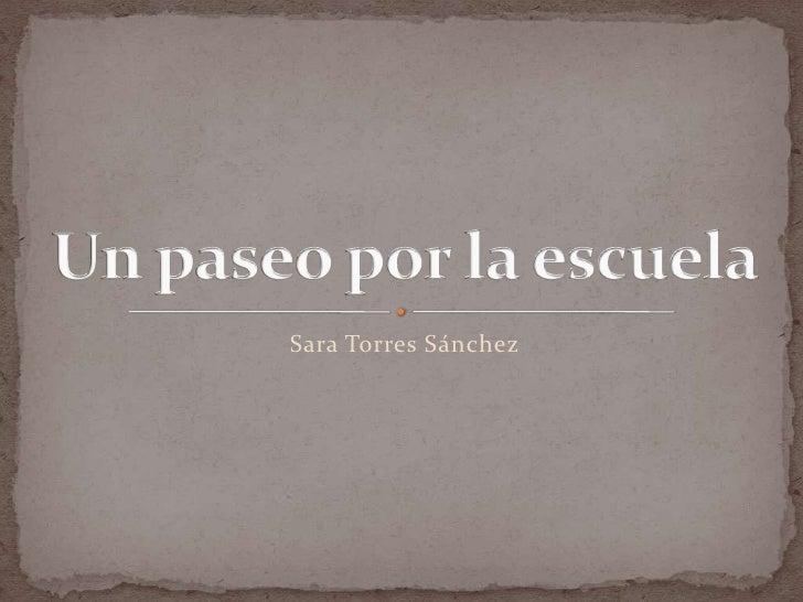 Sara Torres Sánchez
