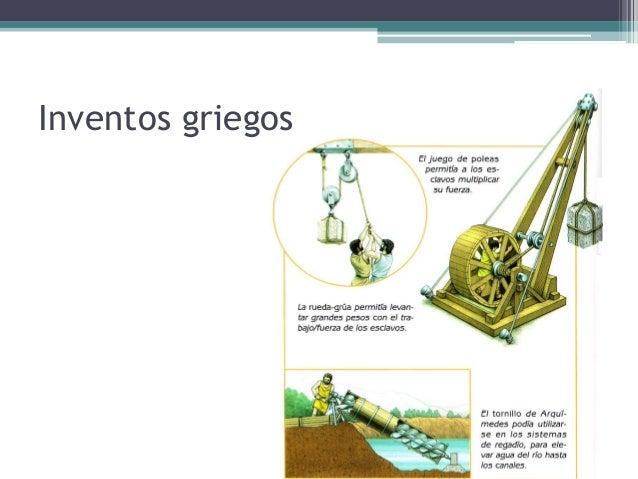 inventos griegos para ninos