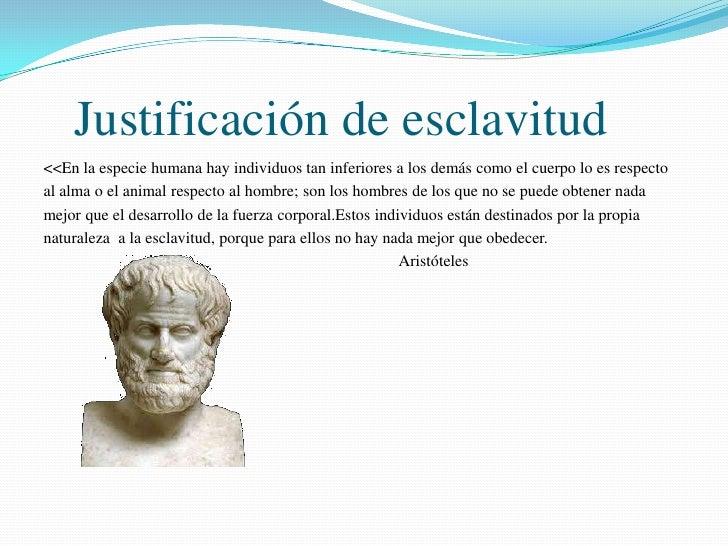Resultado de imagen de aristoteles y la esclavitud