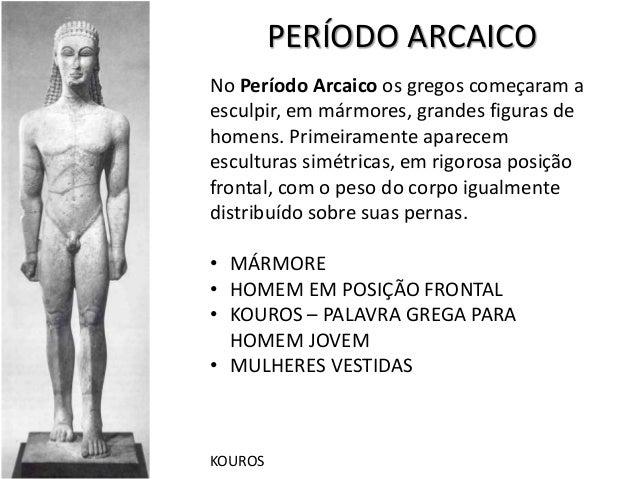 história da arte antiguidade clássica gregos