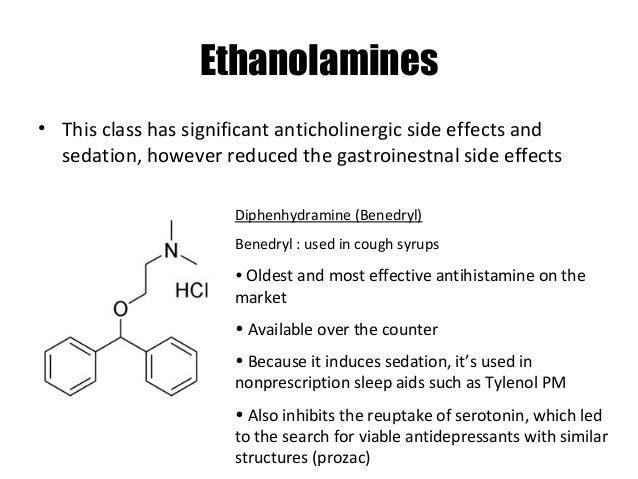 Otc sedating antihistamines uk