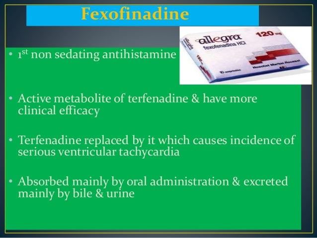 mechanism of action of non sedating antihistamines Mechanism of action of: 1 antihistamines 2 non-sedating 1 mechanism of action of n-acetylcystein as a decongestant 2.