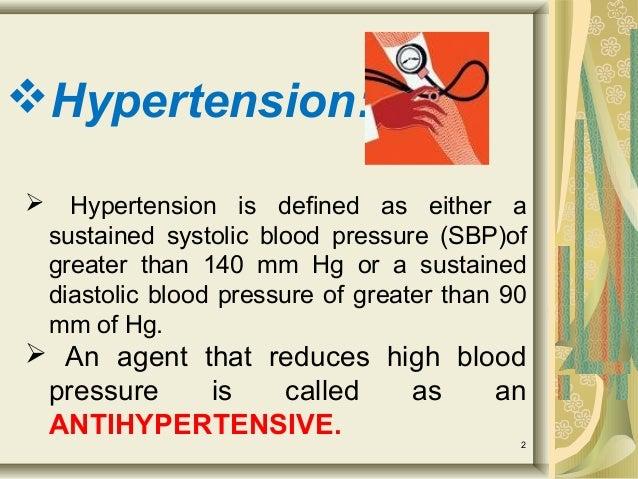 Antihypertensive drugs Slide 2