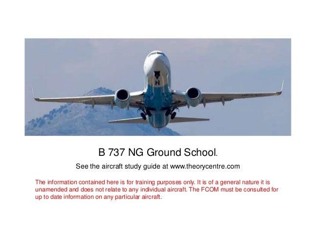 B737NG Anti ice and rain