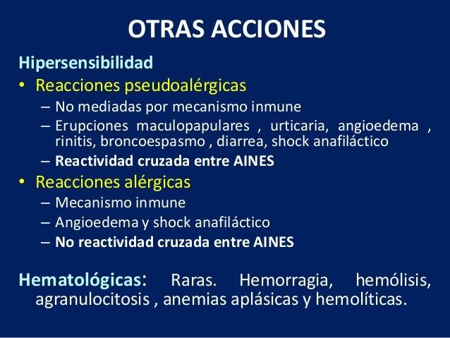 Farmacologia: Antiinflamatorios, AINES
