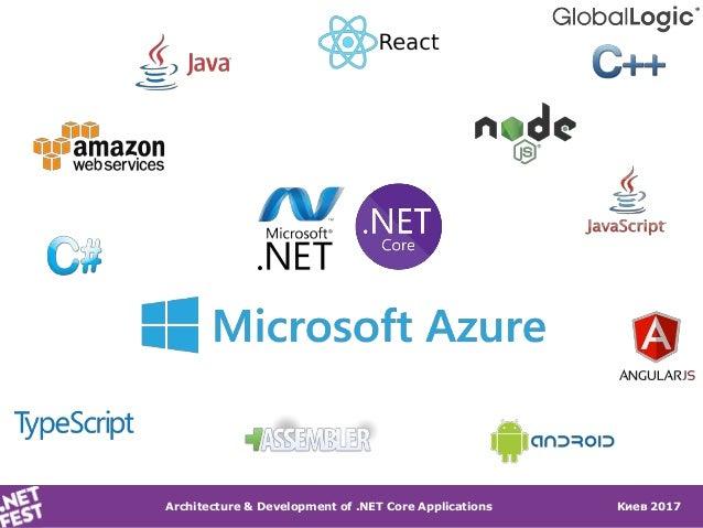 .NET Fest 2017. Андрей Антиликаторов. Проектирование и разработка приложений на .NET Core Slide 2