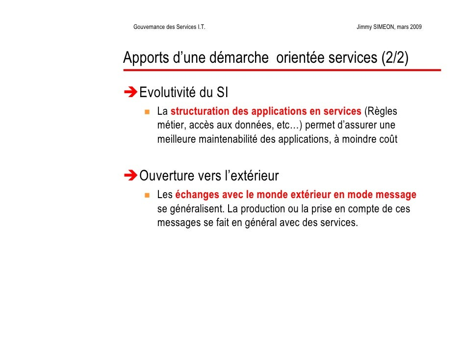 La gouvernance des services informatiques for Format 41 raumgestaltung ag