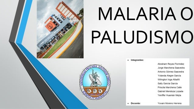 MALARIA OPALUDISMO