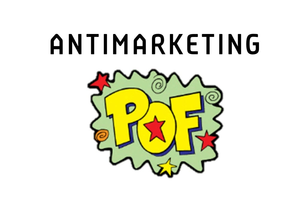 ANTIMARKETING