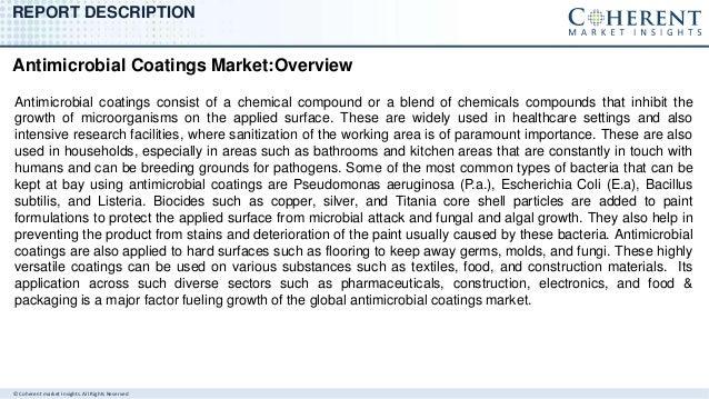 Antimicrobial coatings market Slide 2