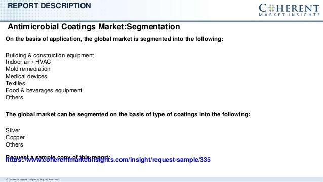 Antimicrobial coatings market Slide 3