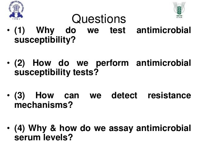 Antimicrobial drug sensitivity testing essay