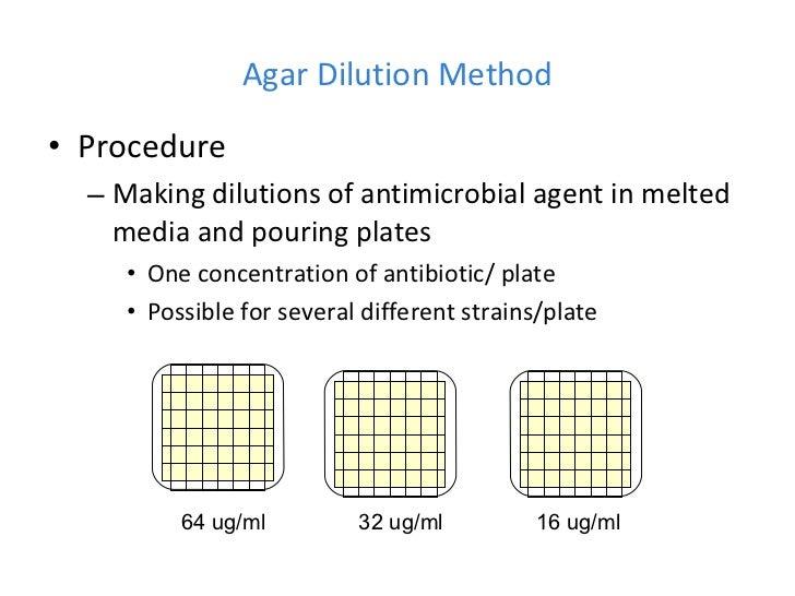 minimum inhibitory concentration procedure pdf