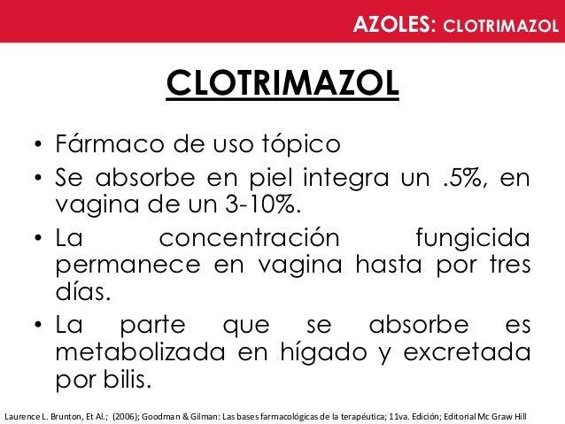 Clotrimazol contraindicaciones