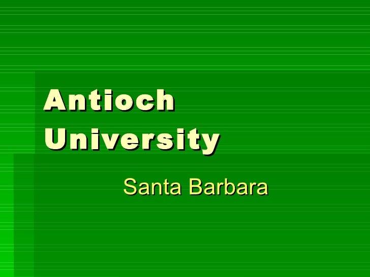 Antioch University Santa Barbara