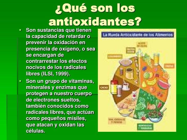 Antioxidante - Que alimentos son antioxidantes naturales ...