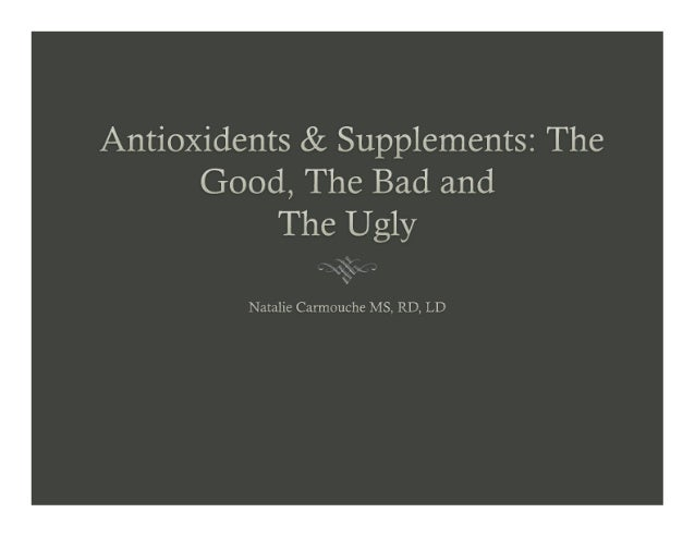 Antioxidants and Supplements, Natalie Davis Carmouche - 7th Annual Breast Health Summit