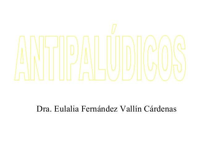 Dra. Eulalia Fernández Vallín Cárdenas