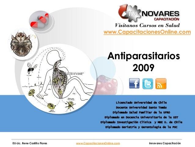 Antiparasitarios los pdf de farmacologia