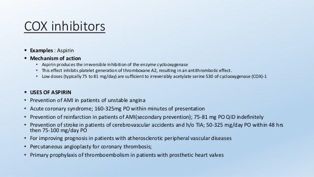 antiplatelets and anticoagulants