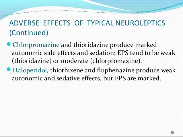 what are the side effects of haloperidol